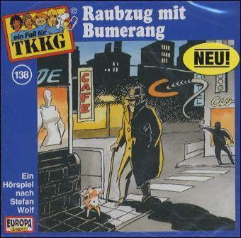 138/Raubzug mit Bumerang als Hörbuch