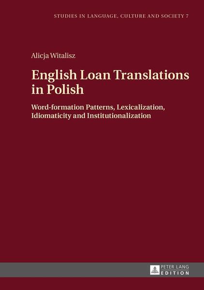 English Loan Translations in Polish als Buch vo...