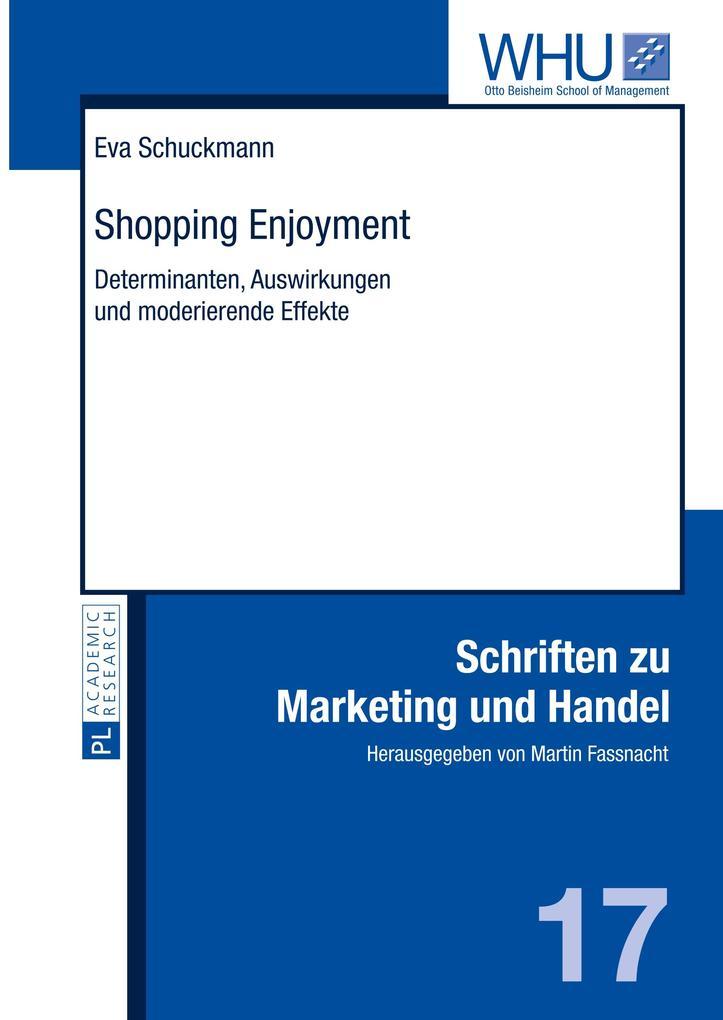 Shopping Enjoyment als Buch von Eva Schuckmann