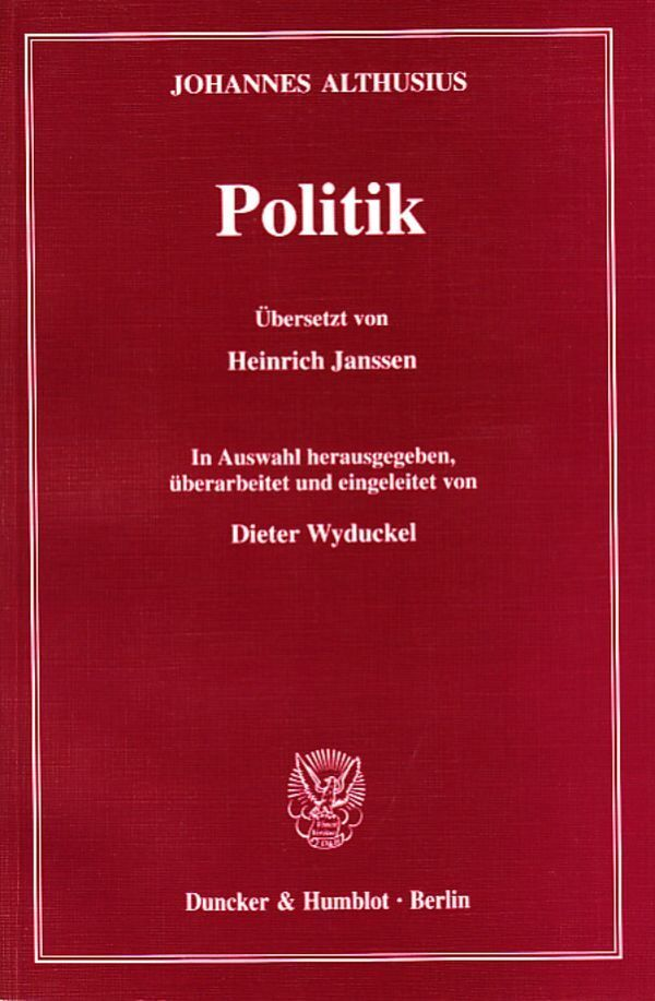 Politik als Buch
