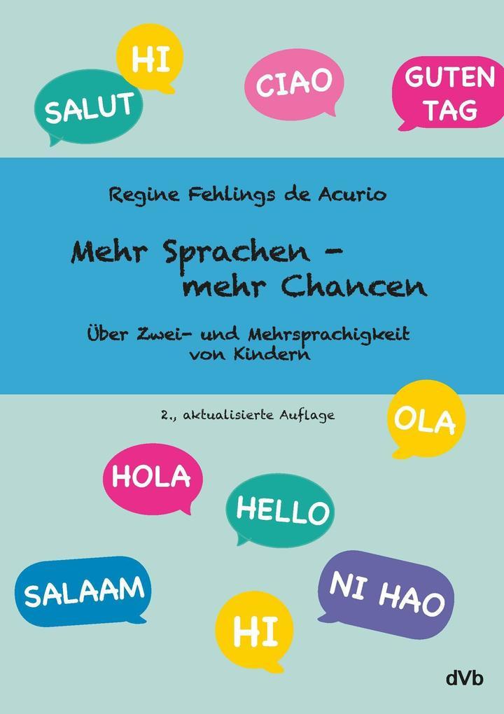 Mehr Sprachen - mehr Chancen als Buch von Regin...