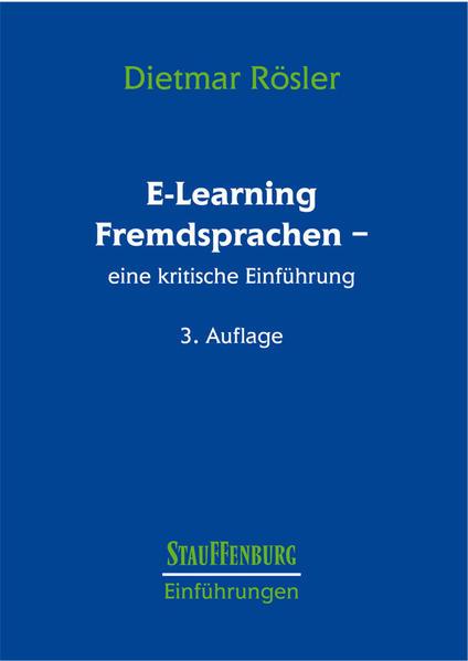 E-Learning Fremdsprachen als Buch