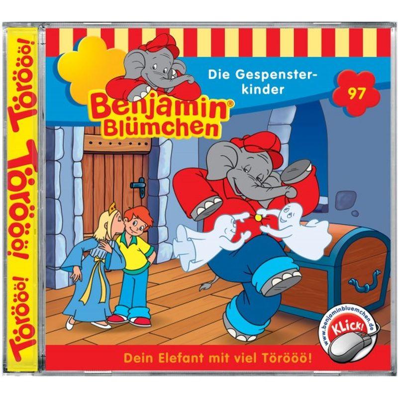 Benjamin Blümchen: Folge 097: Die Gespensterkinder als Hörbuch
