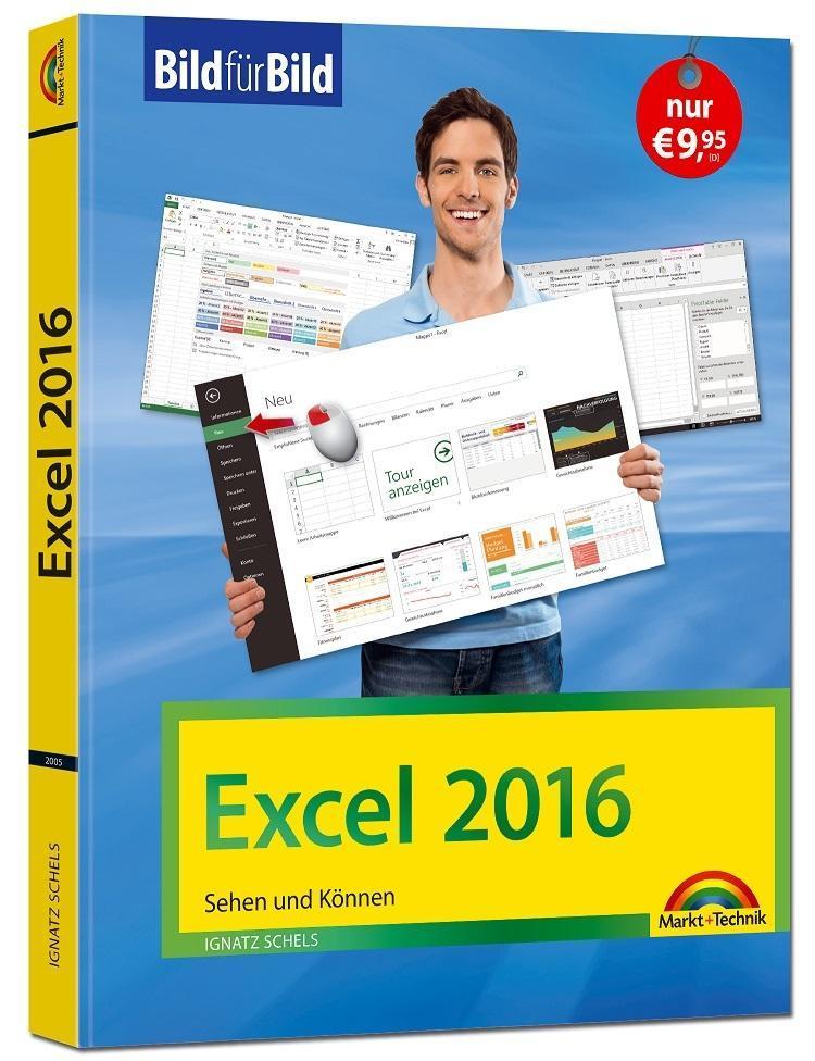 Excel 2016 Bild für Bild: sehen und können als Buch
