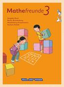 Mathefreunde 3. Schuljahr. Schülerbuch mit Kartonbeilagen. Nord