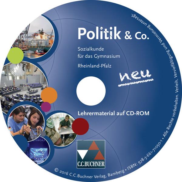 Politik & Co. neu Lehrermaterial Rheinland-Pfalz