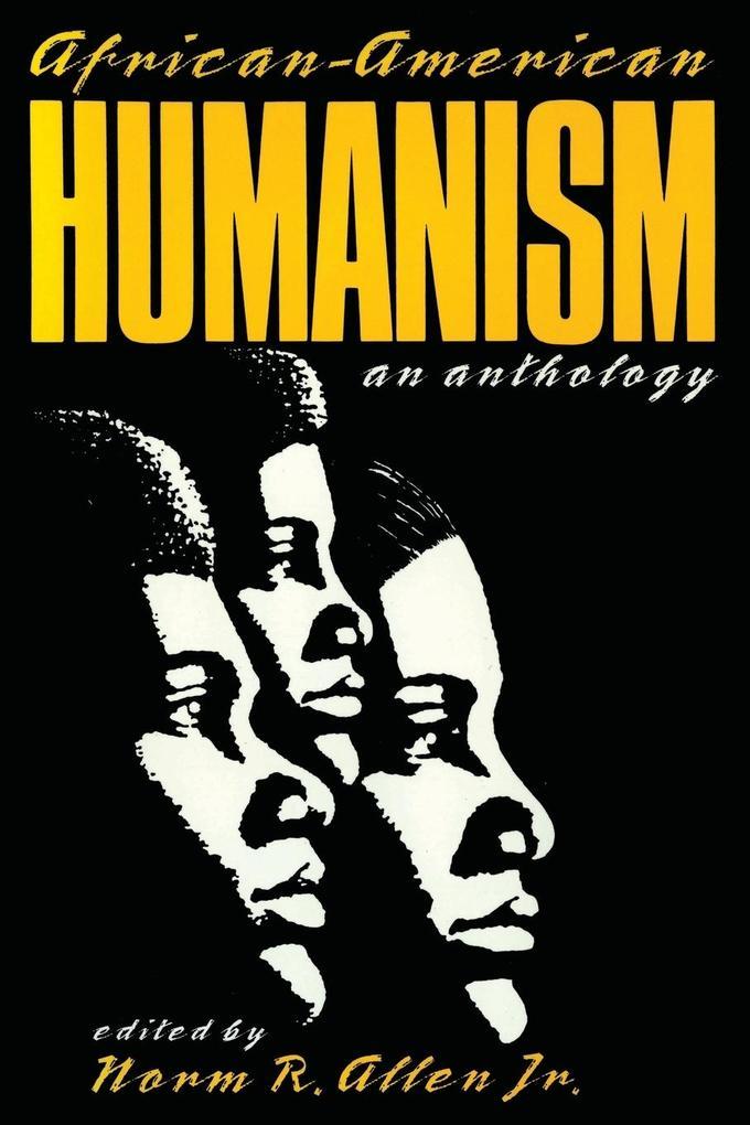 African-American Humanism als Taschenbuch