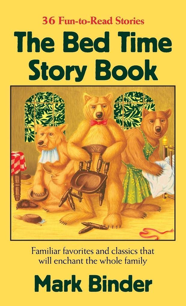 The Bed Time Story Book als Buch von Mark Binder