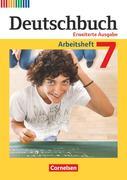 Deutschbuch 7. Schuljahr. Erweiterte Ausgabe - Arbeitsheft mit Lösungen