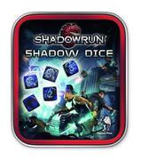 Würfelset: Shadowrun (neue Version: schwarz/blau)