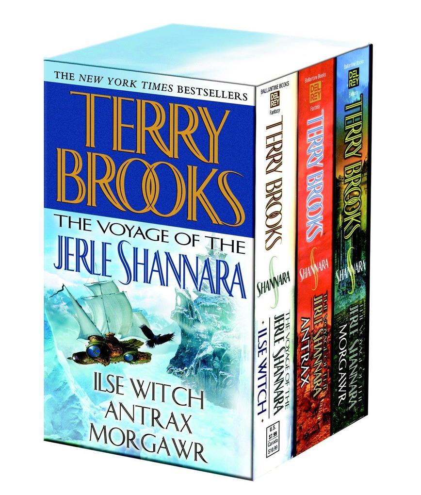 Voyage of the Jerle Shannara 3c Box Set als Taschenbuch