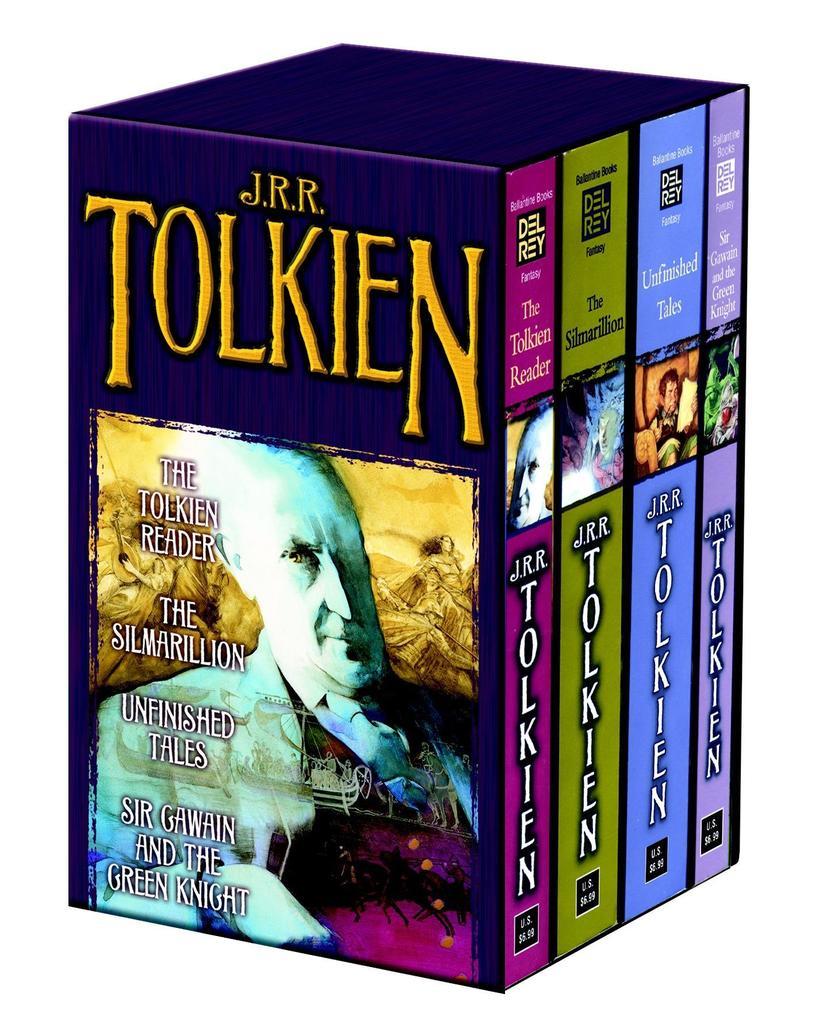 Tolkien Fantasy Tales 4C Box Set MM als Taschenbuch