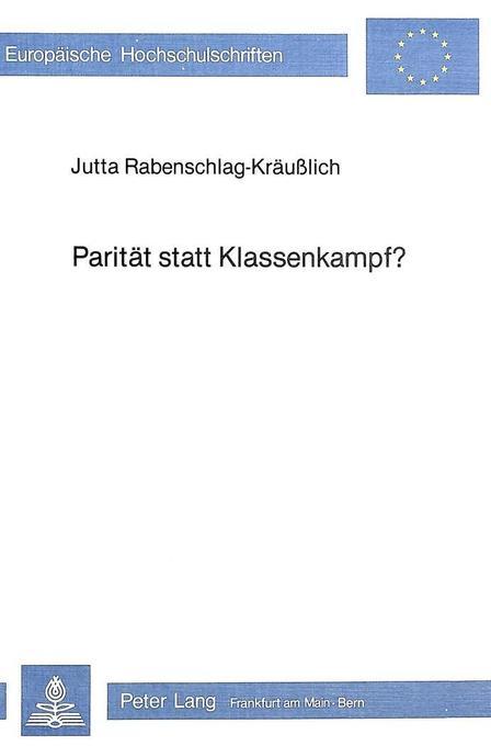 Parität statt Klassenkampf? als Buch von Jutta ...