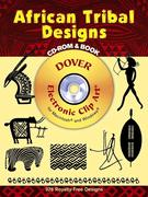 African Tribal Designs CD-ROM and Book