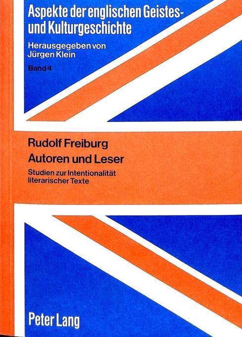 Autoren und Leser als Buch von Rudolf Freiburg