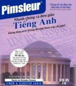 Pimsleur English for Vietnamese Speakers Quick & Simple Course - Level 1 Lessons 1-8 CD: Learn to Speak and Understand English for Vietnamese with Pim als Hörbuch