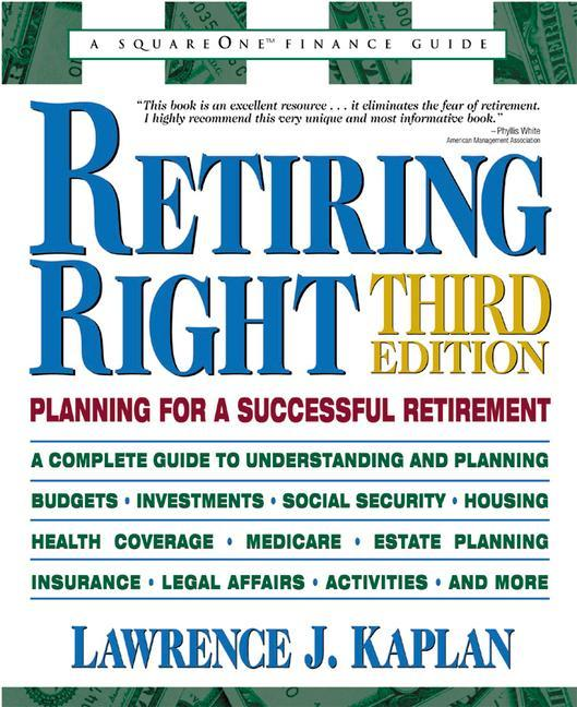 Retiring Right: Planning for a Successful Retirement als Taschenbuch