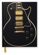 Gibson Les Paul Black Guitar (Blank Sketch Book)