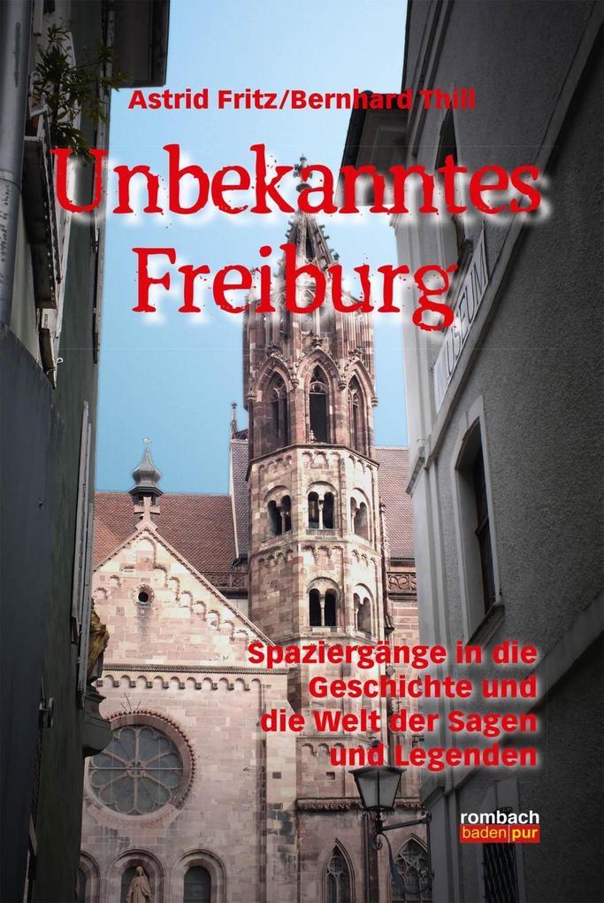 Unbekanntes Freiburg als eBook Download von Ast...