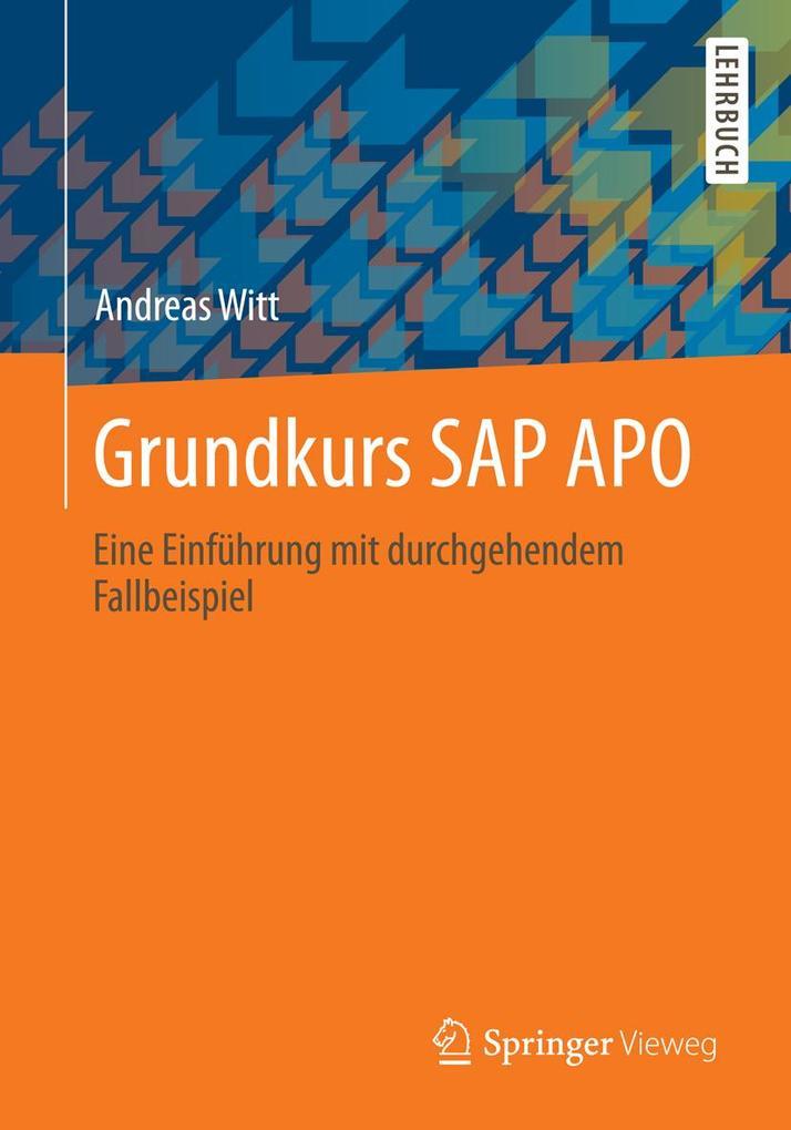 Grundkurs SAP APO als eBook Download von Andrea...