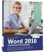 Word 2016 Profiwissen für Anwender