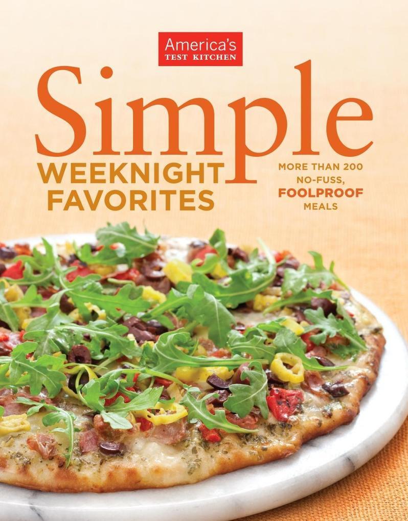 Simple Weeknight Favorites als eBook Download von