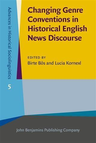 Changing Genre Conventions in Historical Englis...