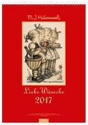 Liebe Wünsche 2017. Hummel Wandkalender