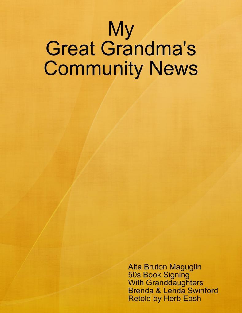 My Great Grandma´s Community News als eBook Dow...