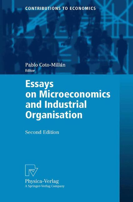 Essays on Microeconomics and Industrial Organisation als Buch