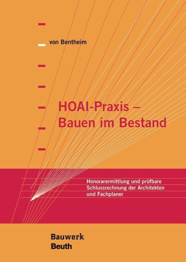 HOAI-Praxis - Bauen im Bestand als Buch von Man...