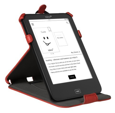 tolino vision Tasche mit Standfunktion Rot als Hardware