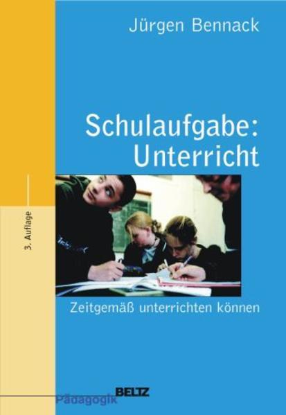 Schulaufgabe: Unterricht als Buch
