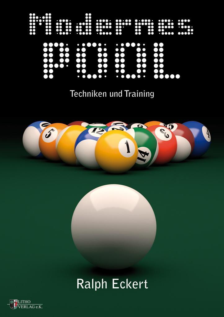 Modernes Pool als Buch