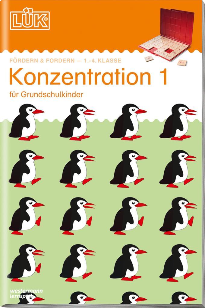 LÜK. Konzentration 1 als Buch