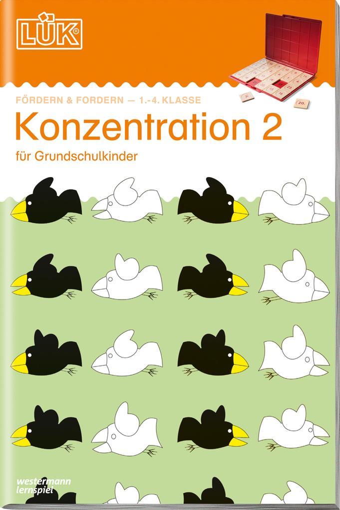 LÜK. Konzentration 2 als Buch