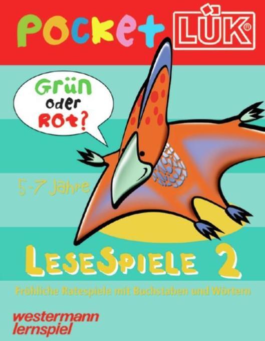 pocketLÜK - Lesespiele 2 als Buch