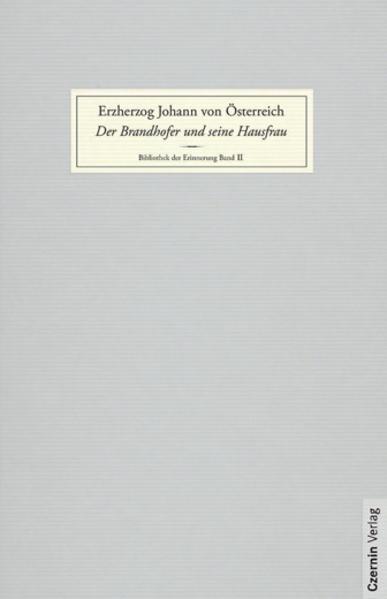 Der Brandhofer und seine Hausfrau als Buch