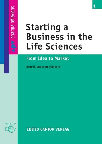 Starting a Business in the Life Sciences als Buch