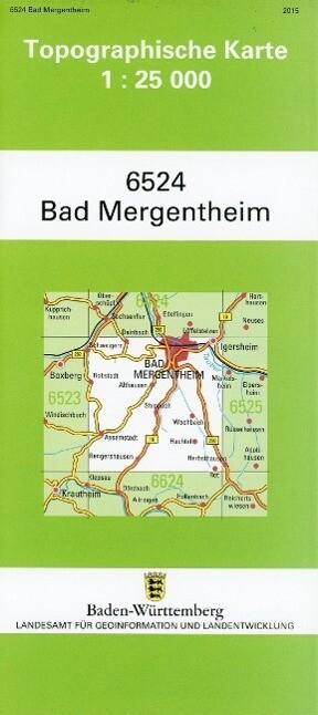 Bad Mergentheim 1 : 25 000 als Buch von