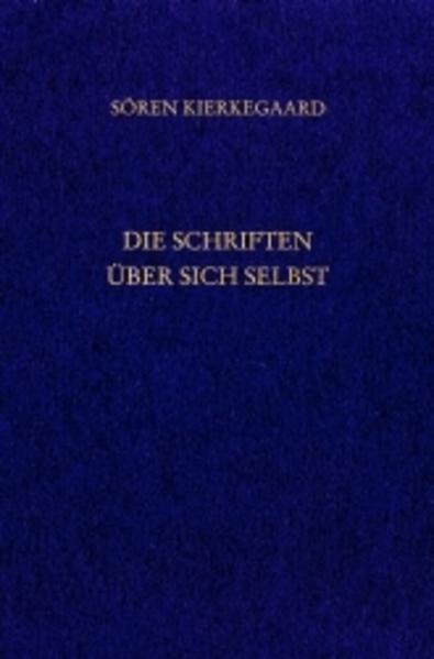 Die Schriften über sich selbst. Gesammelte Werke und Tagebücher. 33. Abt. Bd. 23 als Buch