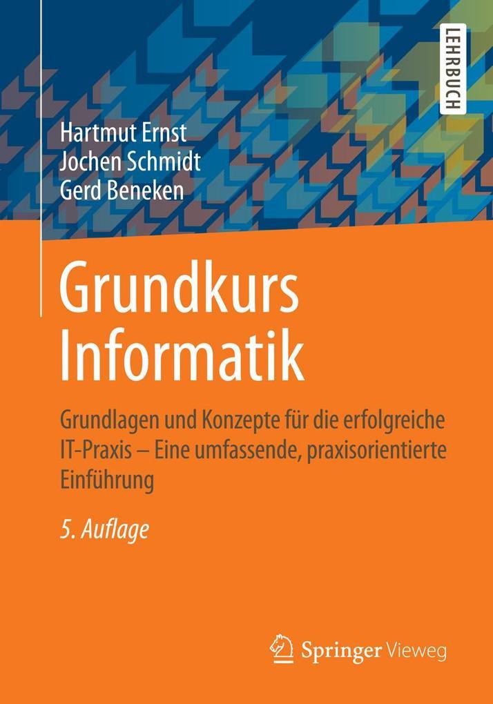 Grundkurs Informatik als eBook Download von Har...