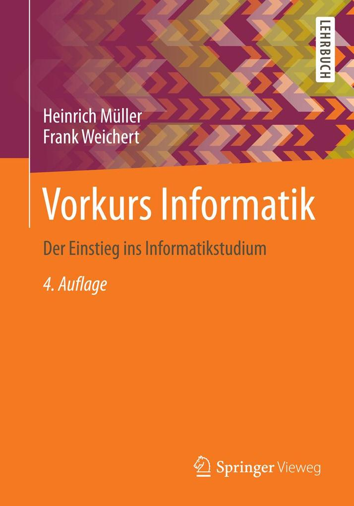 Vorkurs Informatik als eBook Download von Heinr...