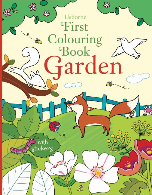 First Colouring Book Garden als Taschenbuch von...