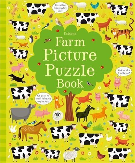 Farm Picture Puzzle Book als Buch von Kirsteen ...