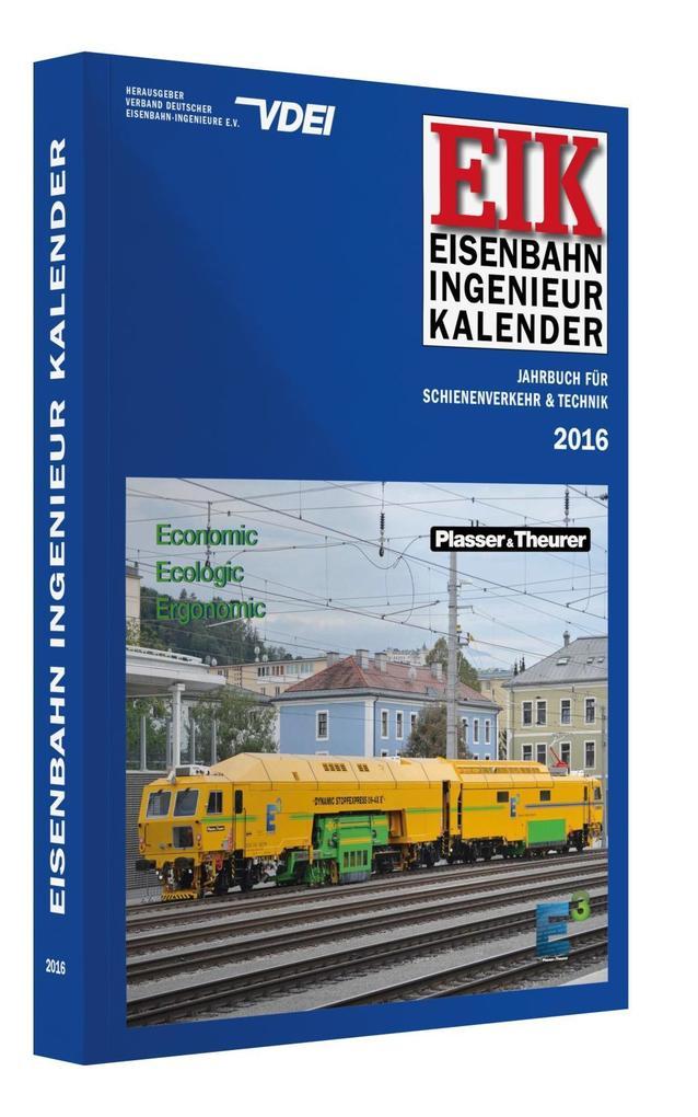 EIK - Eisenbahn Ingenieur Kalender 2016 als Buc...