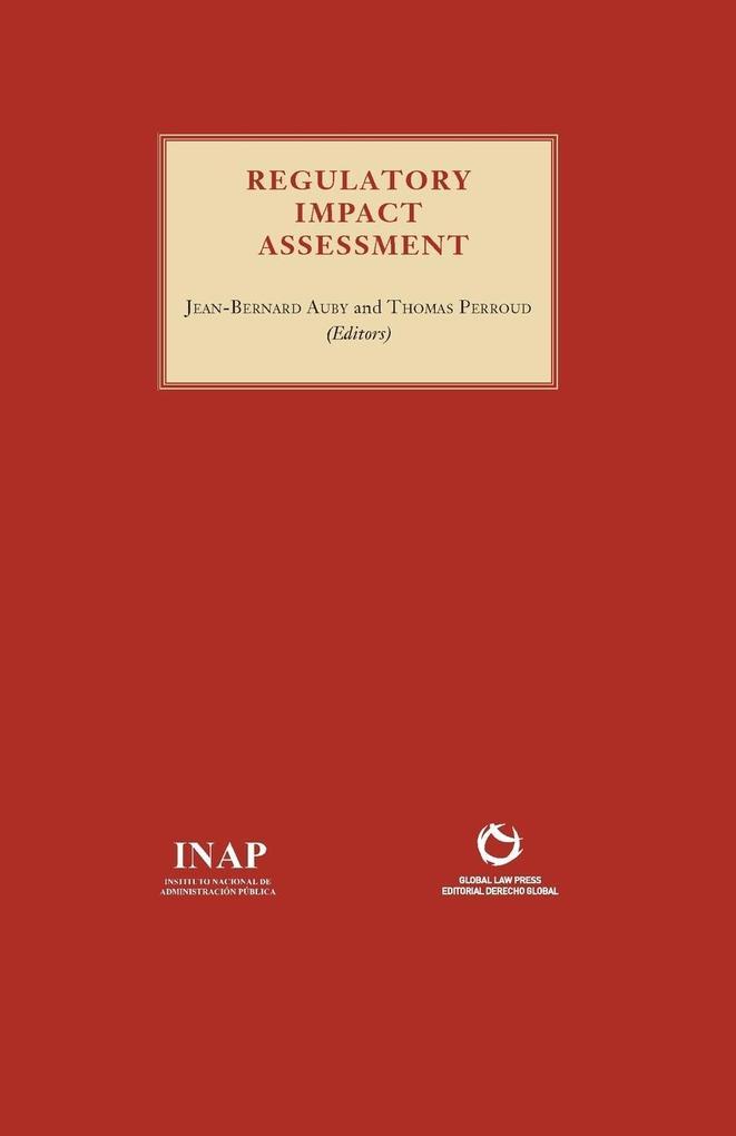 Regulatory Impact Assessment als Taschenbuch von