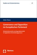 Governance und Opposition im Europäischen Parlament
