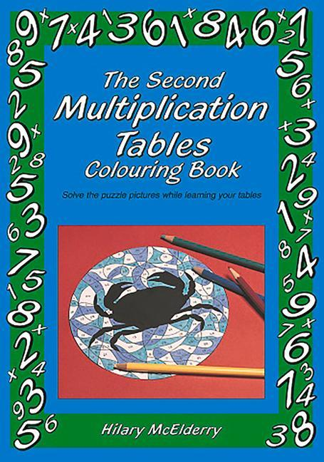 The Second Multiplication Tables Colouring Book als Taschenbuch