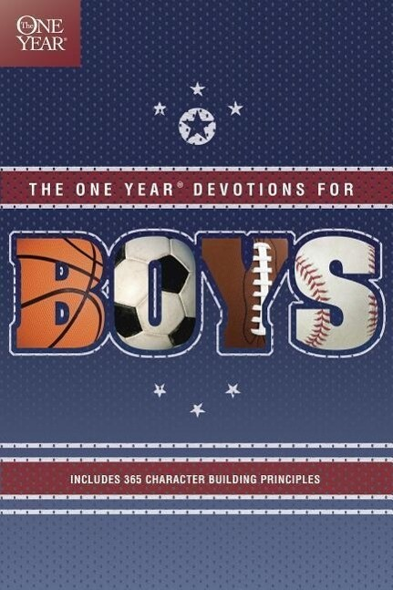 One Year Book of Devotions for Boys als Taschenbuch